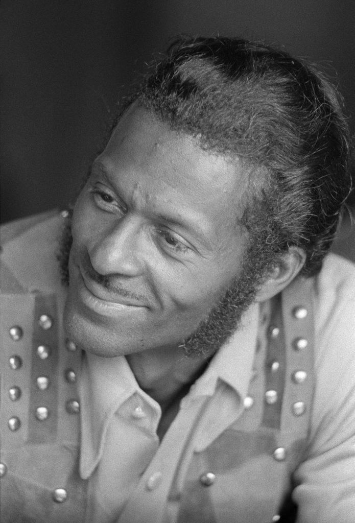 Chuck Berry from Music fine art photography