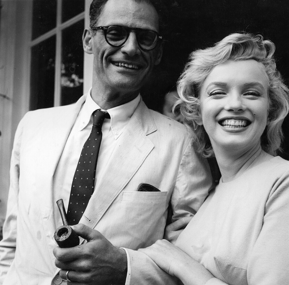 Monroe And Miller from Marilyn Monroe fine art photography