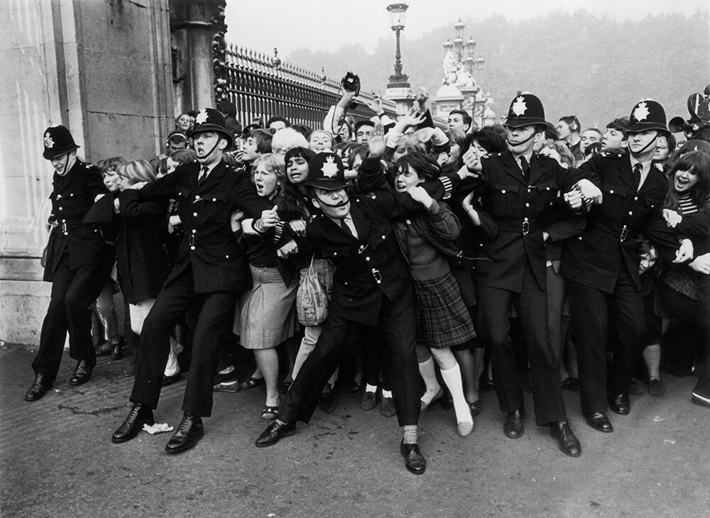 Fans Invasion from Beatles fine art photography