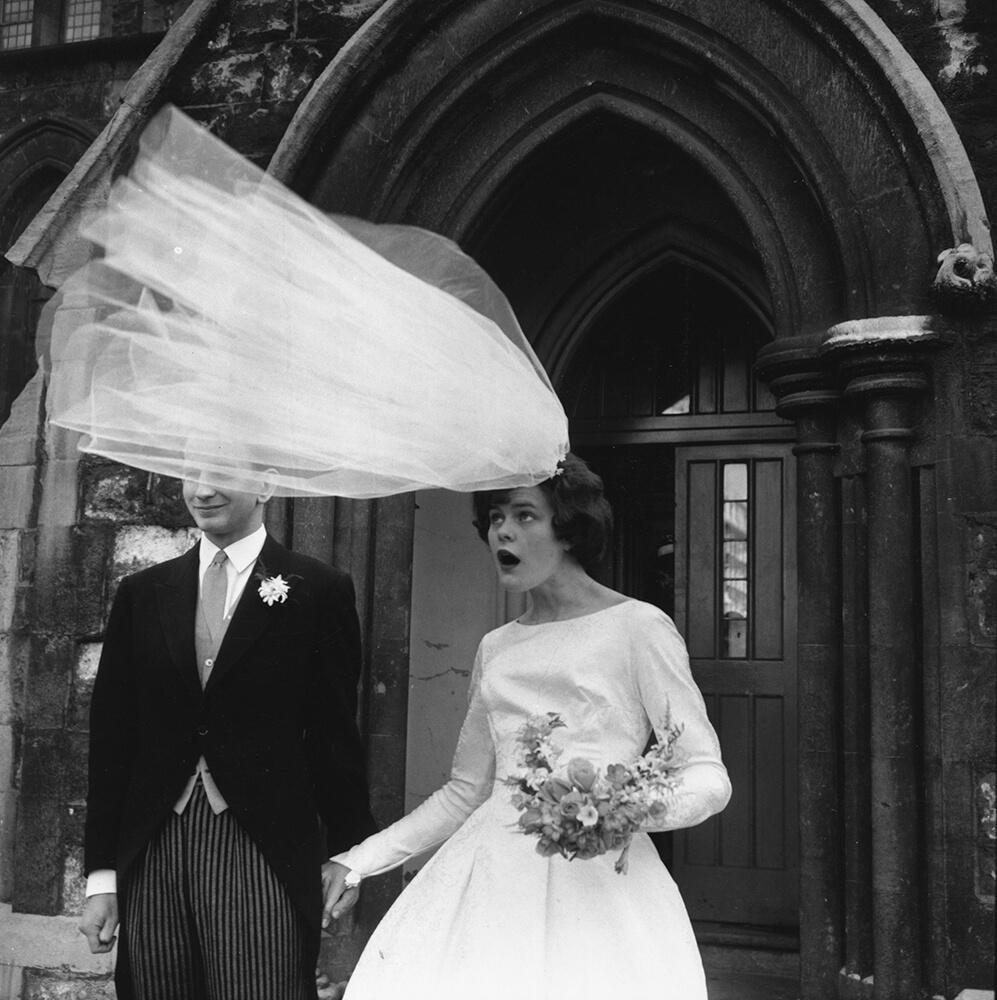 Windy Wedding from Evening Standard fine art photography