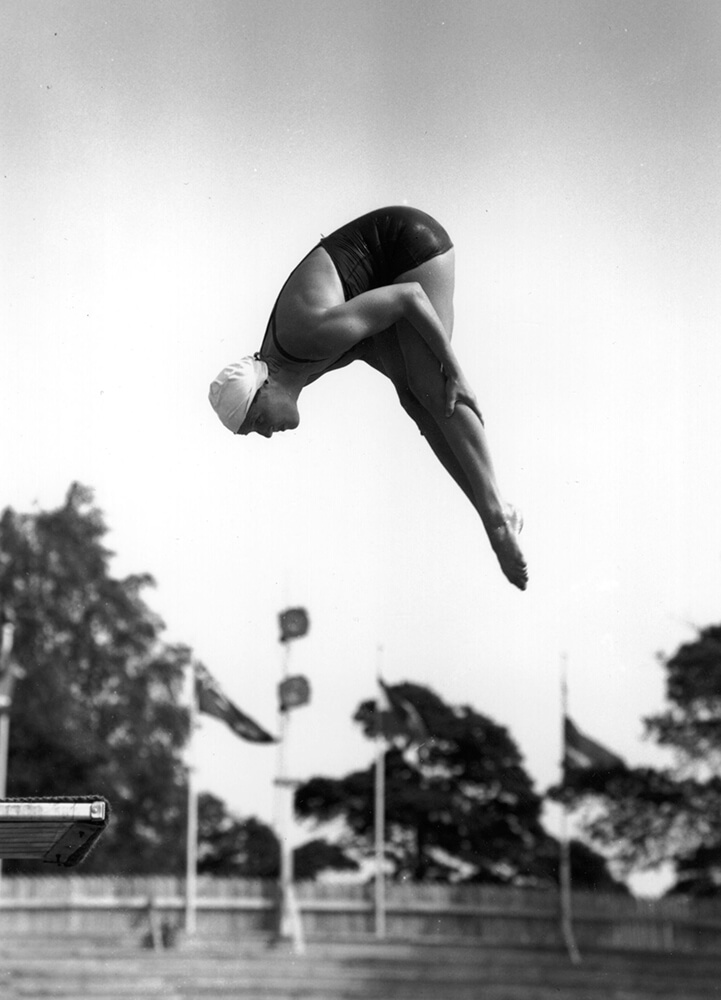 Olympic Diver from Sports fine art photography