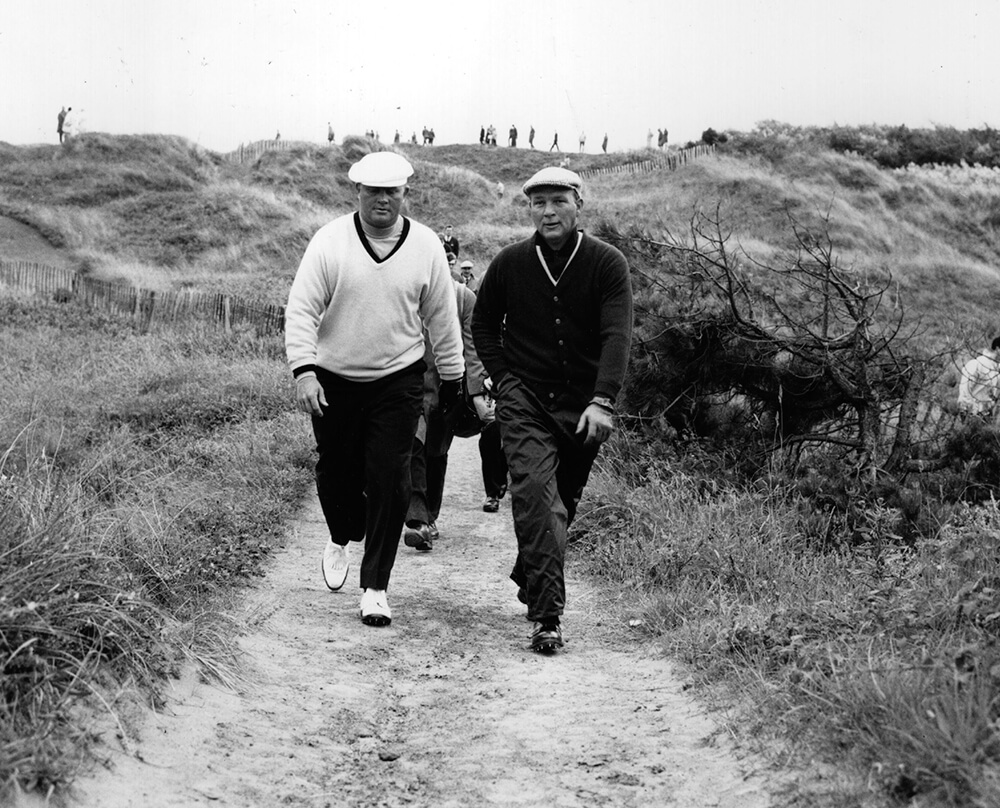 Nicklaus And Palmer from Sports fine art photography