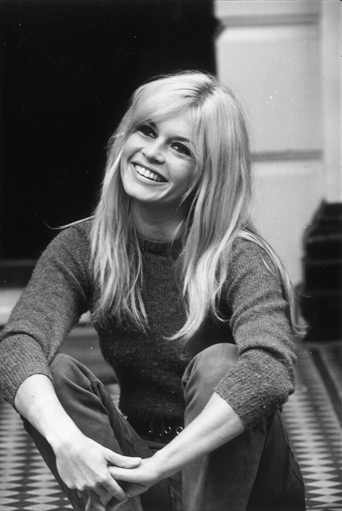 Brigitte Bardot from French Cinema fine art photography