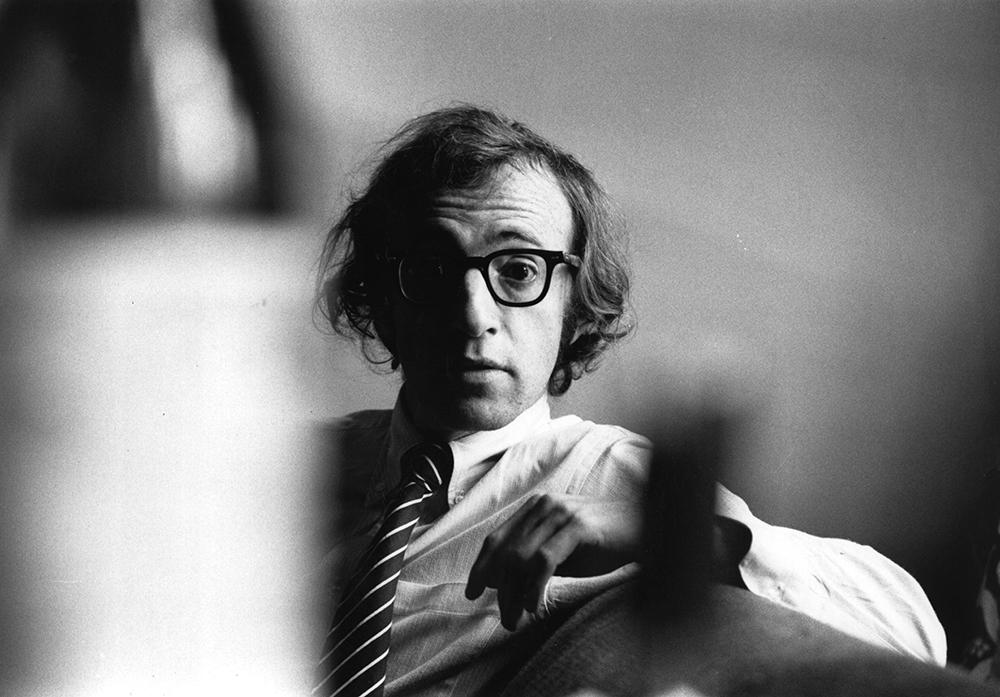 Woody Allen from Evening Standard fine art photography