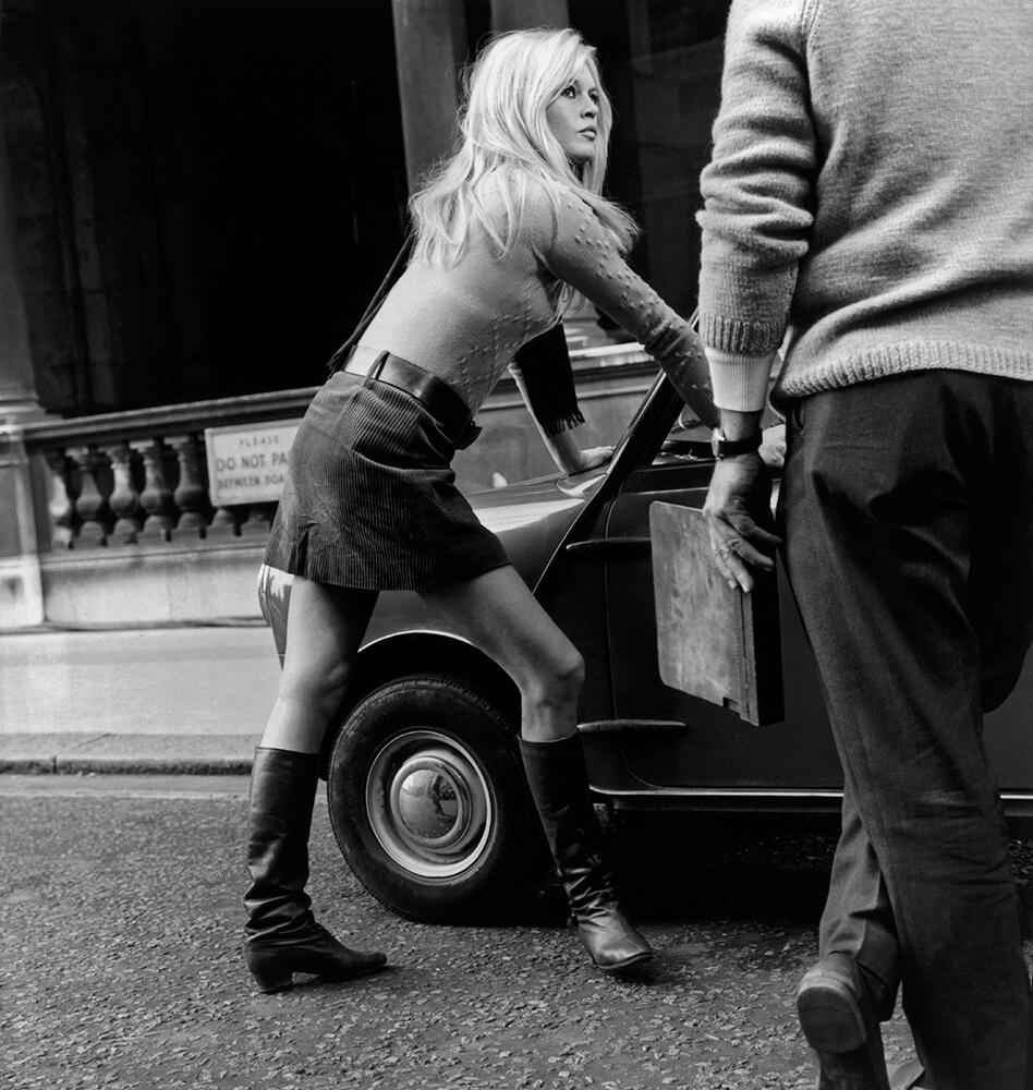 Mini Car Mini Skirt from French Cinema fine art photography