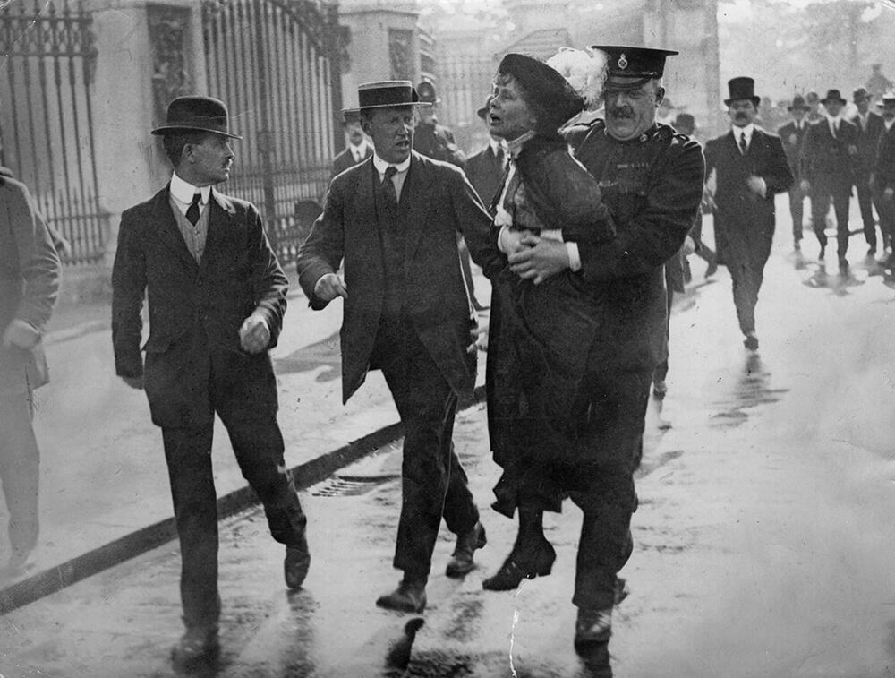 Pankhurst Arrested fine art photography