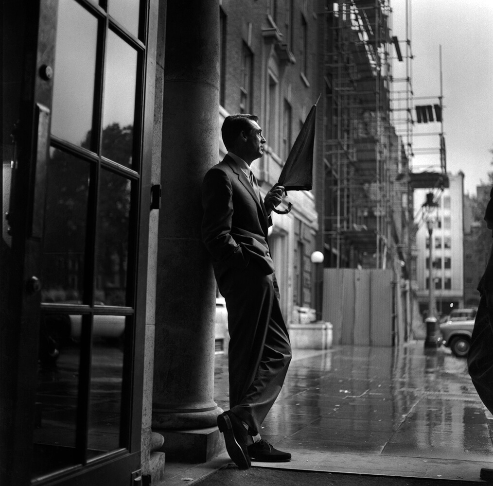 Cary In Rain from Hollywood fine art photography
