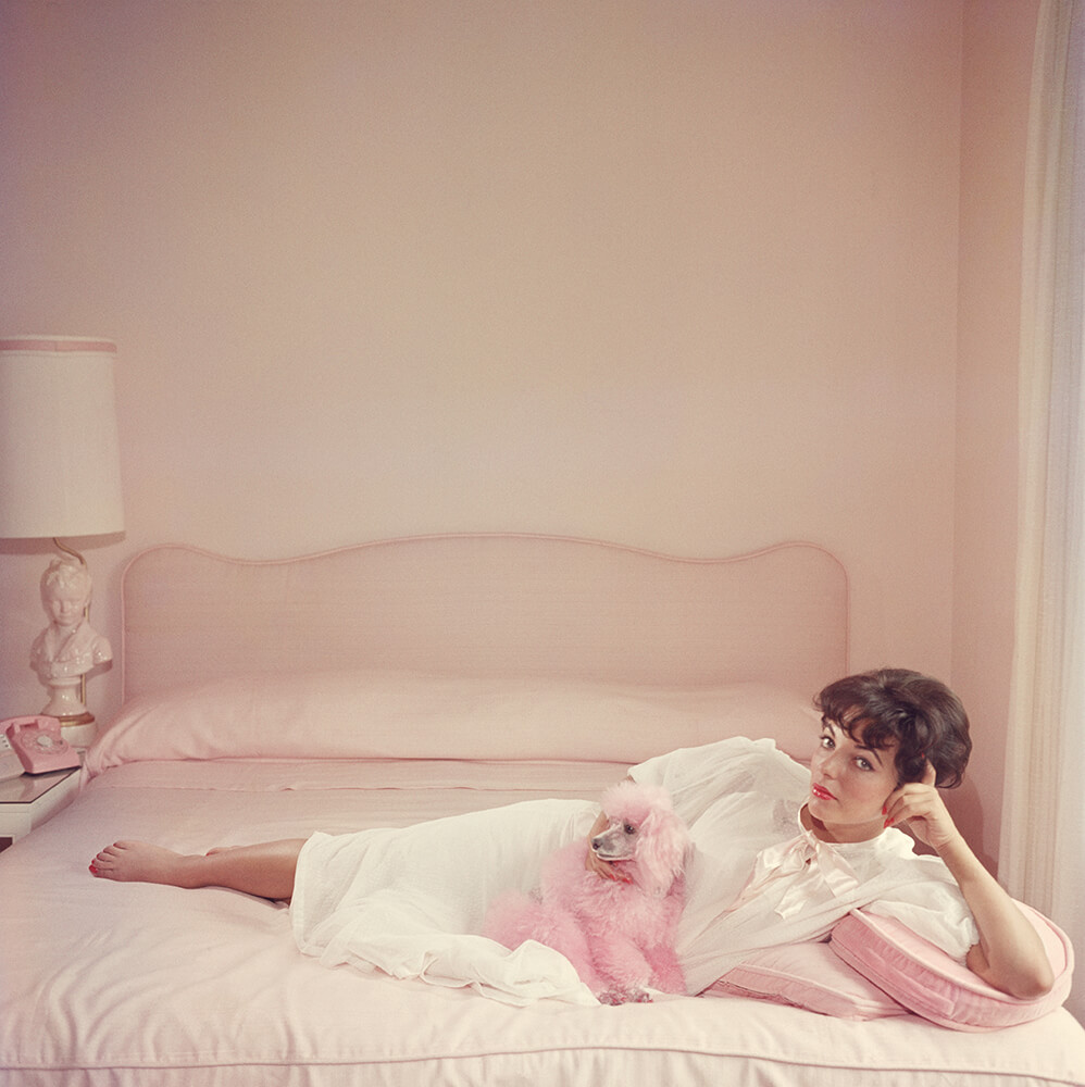 Joan Collins Relaxes fine art photography