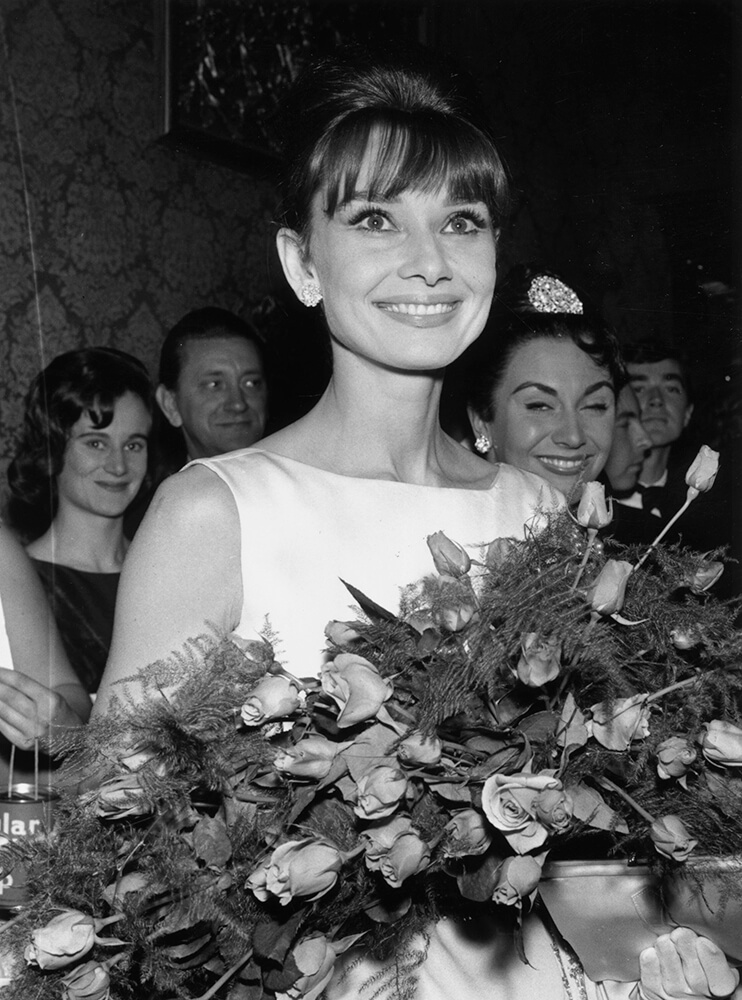 Flowers For Audrey from Audrey Hepburn fine art photography