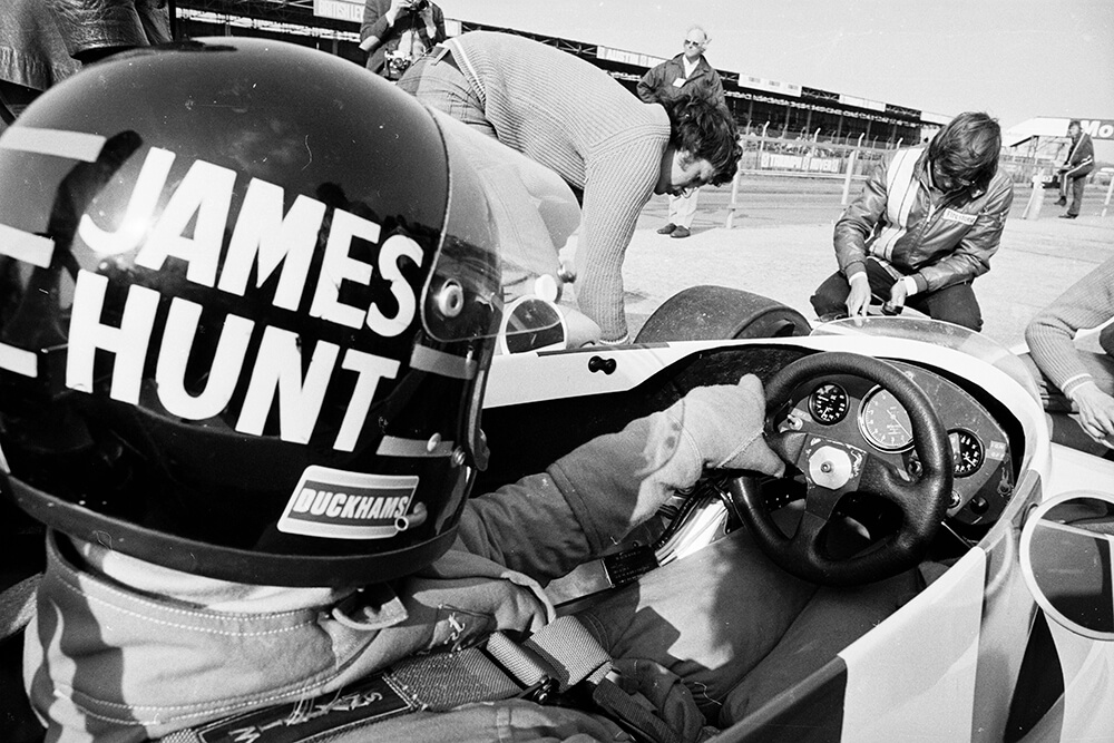 James Hunt from Sports fine art photography