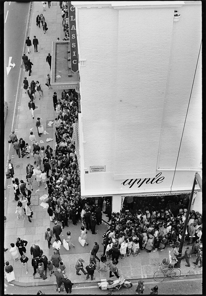 Apple Queues from Beatles fine art photography