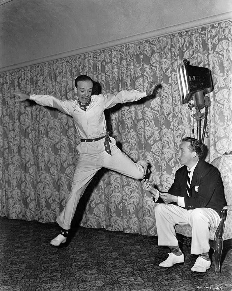 Astaire Rehearses from Hollywood fine art photography
