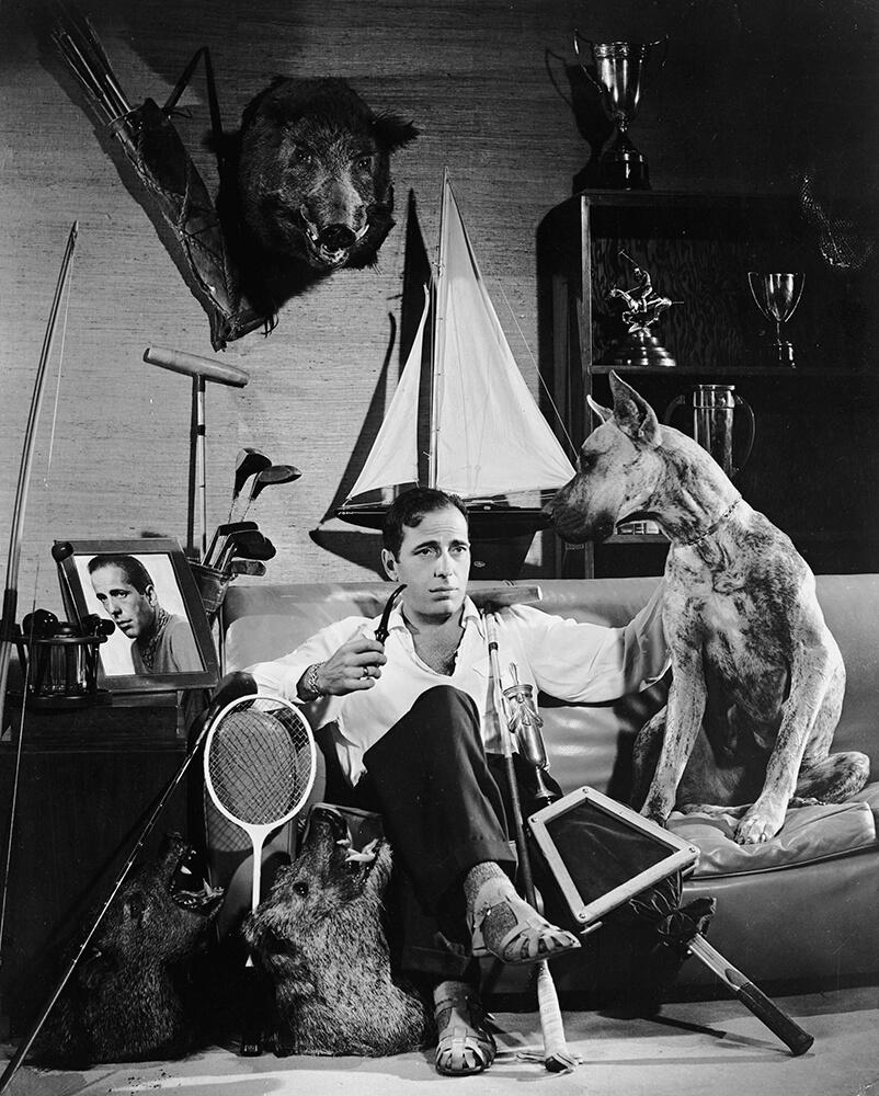 Bogart The Sportsman from John Kobal Foundation fine art photography