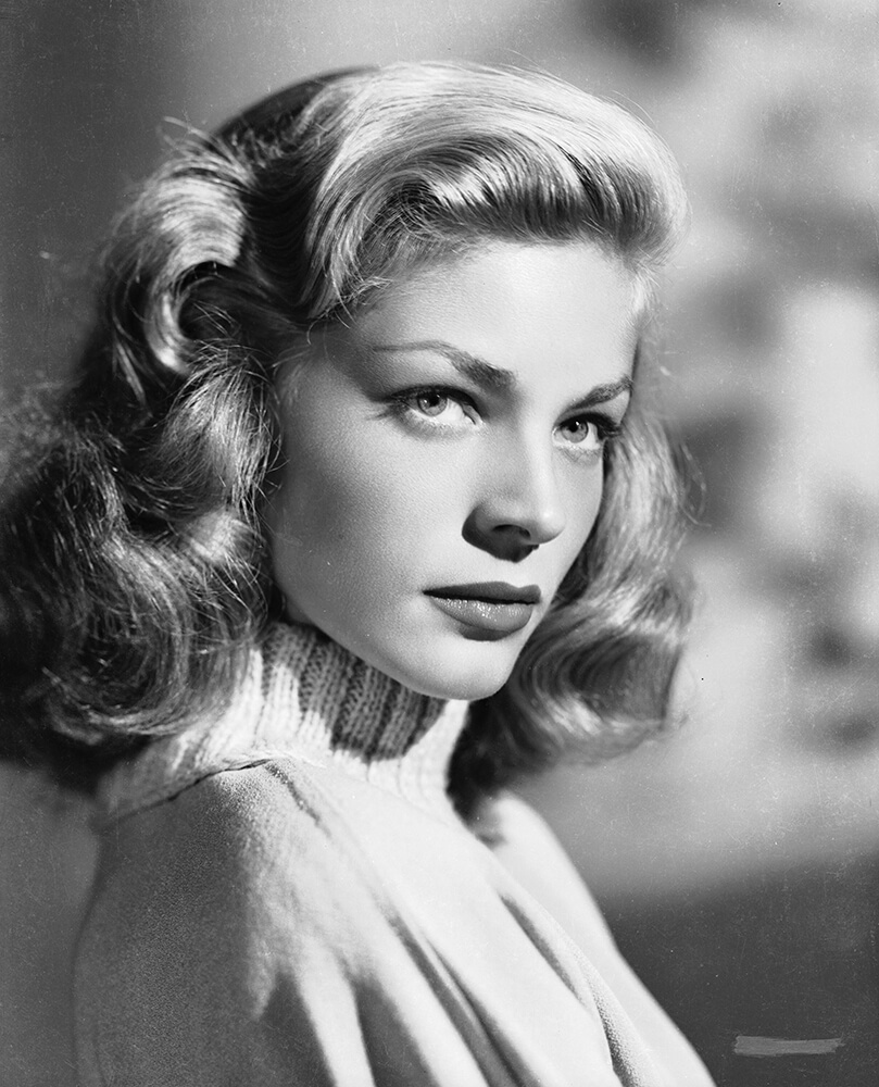 Polo Neck Bacall from Hollywood fine art photography