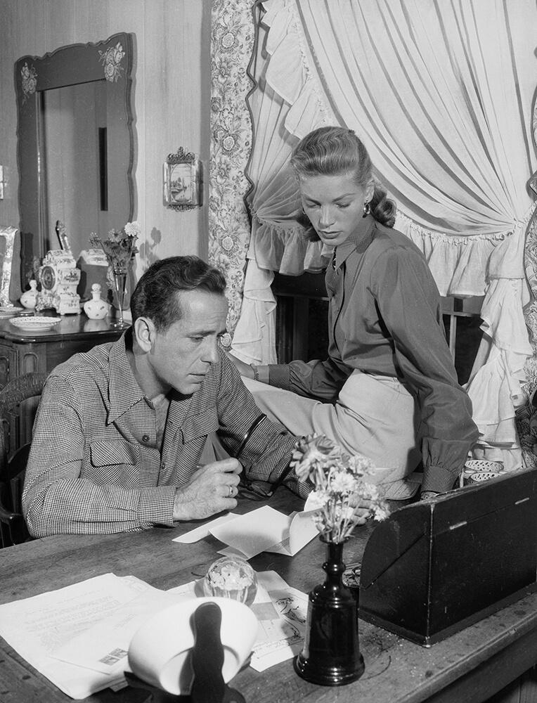 Mr and Mrs Bogart from John Kobal Foundation fine art photography