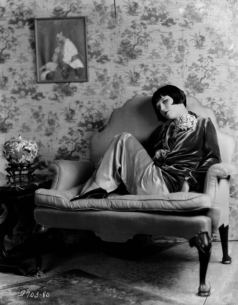 Lounging Louise from John Kobal Foundation fine art photography