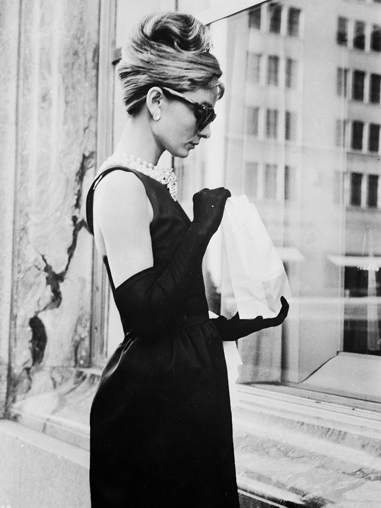 Lunch on Fifth Avenue from Audrey Hepburn fine art photography
