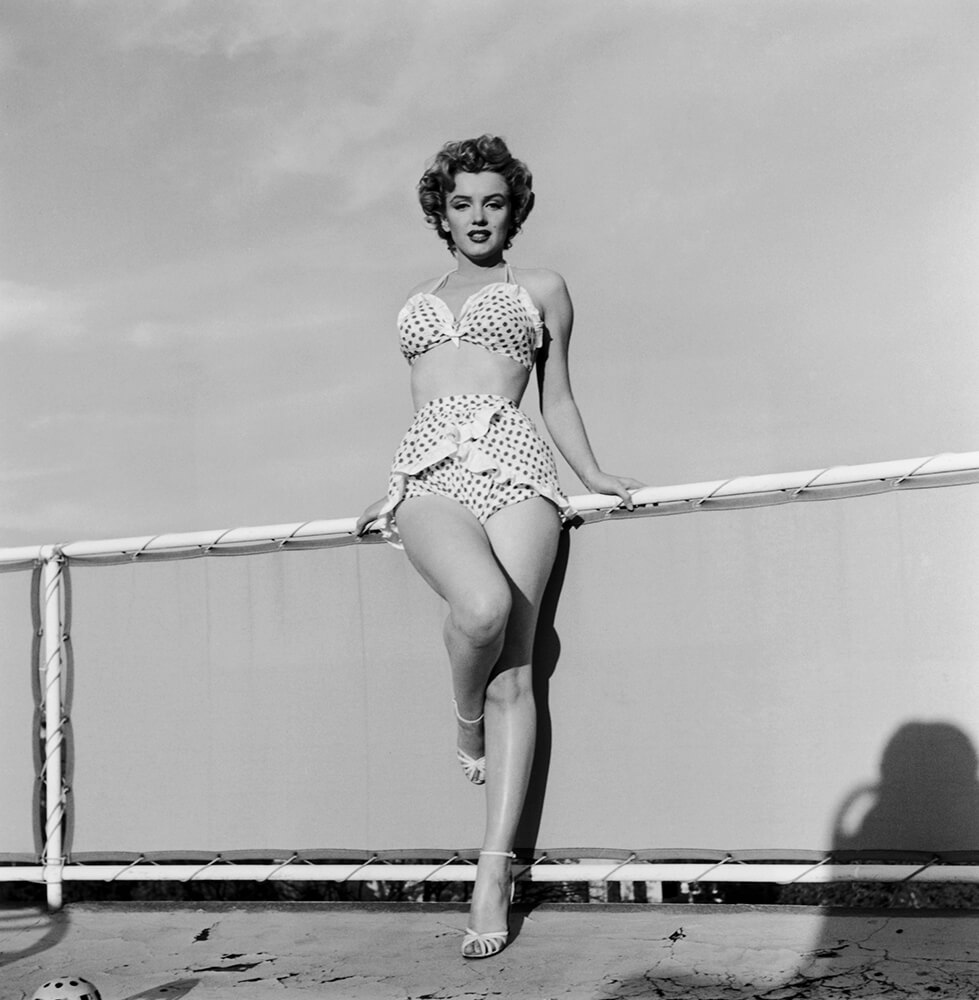 Beach Belle from Marilyn Monroe fine art photography
