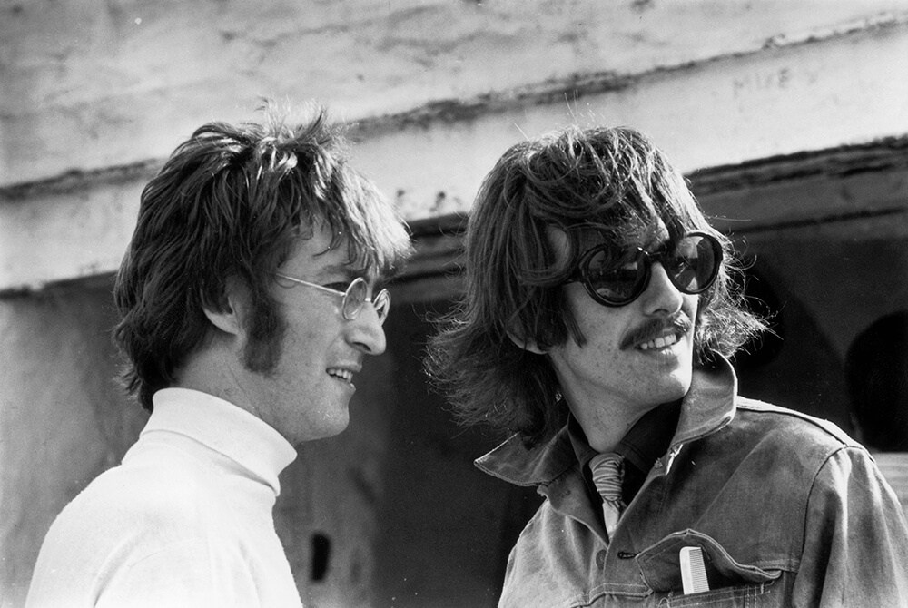 John And George from Beatles fine art photography