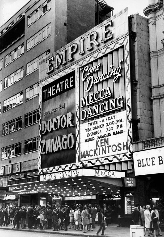 Empire Cinema fine art photography