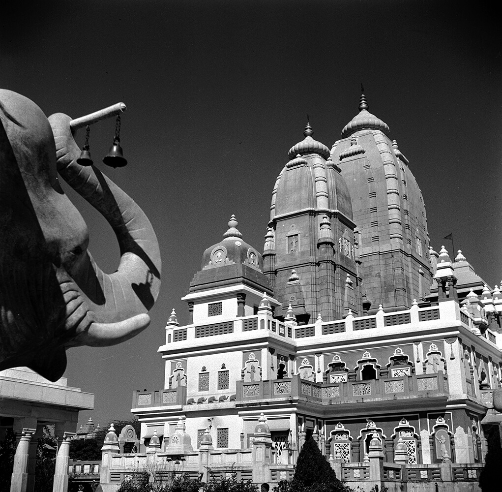 Birla Temple from Three Lions fine art photography