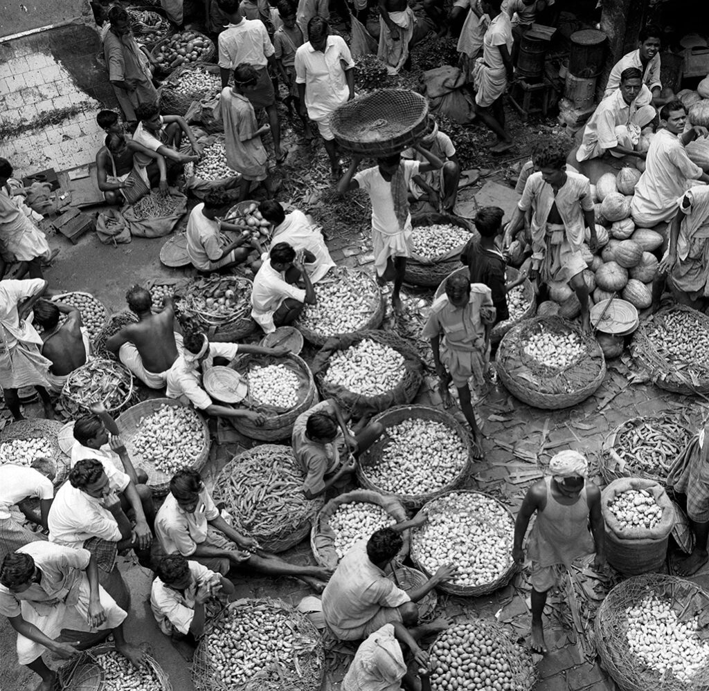 Calcutta Market from Three Lions fine art photography