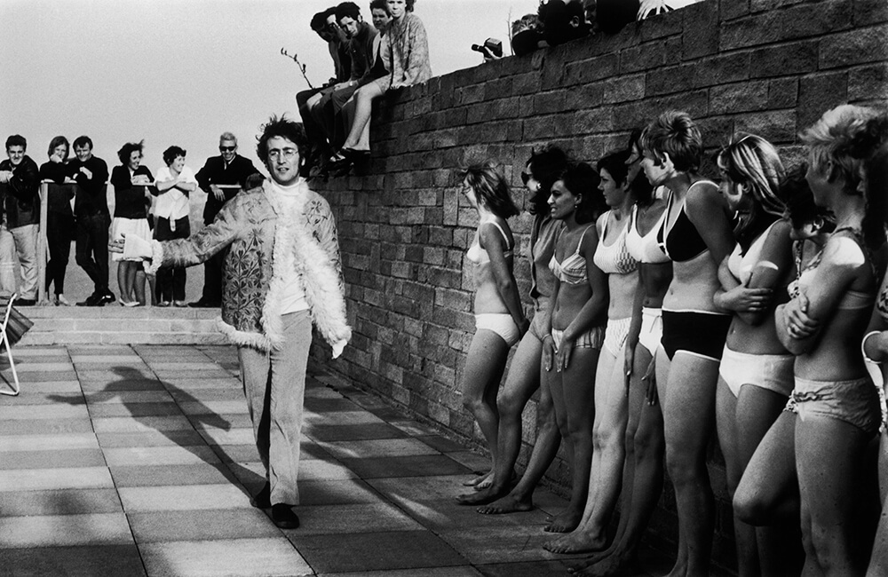 Lennon And Ladies from Beatles fine art photography
