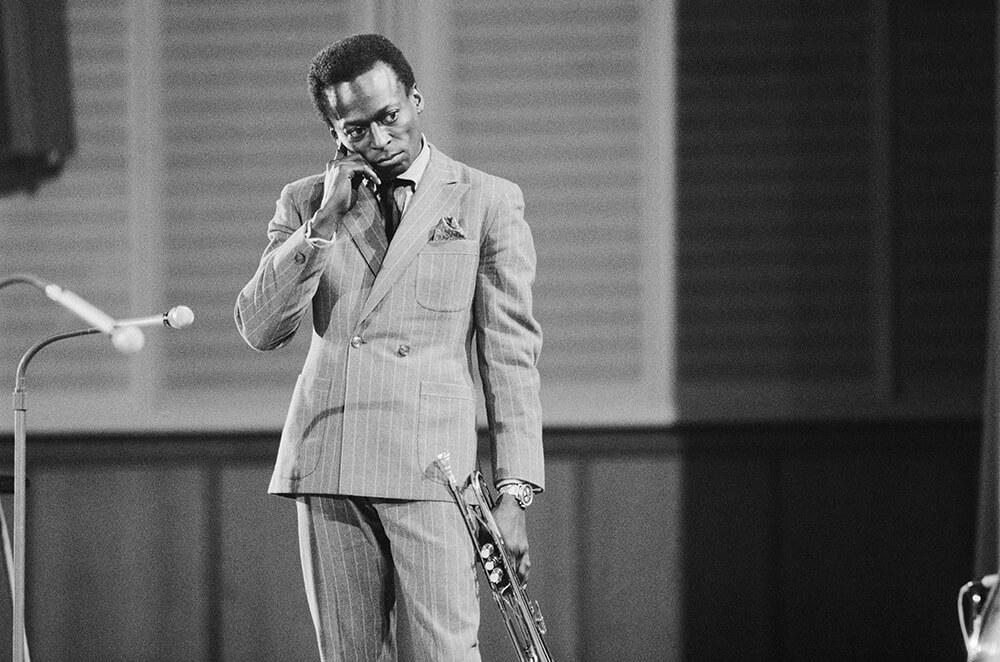 Miles Davis from Jazz fine art photography