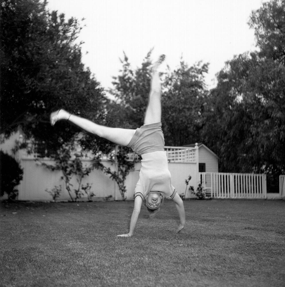 Cartwheeling Marilyn from Marilyn Monroe fine art photography
