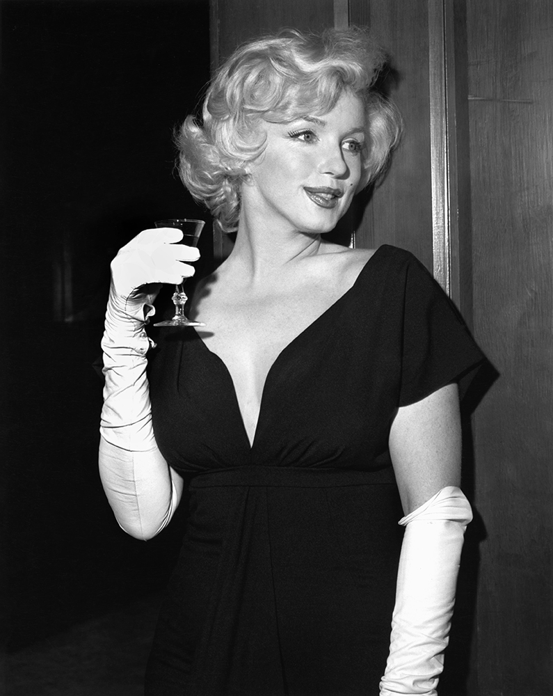 Party For Marilyn At Beverly Hills Hotel from Marilyn Monroe fine art photography