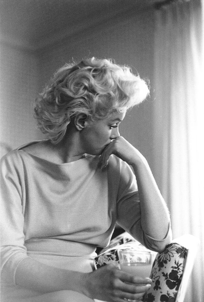 Marilyn Candid Moment fine art photography
