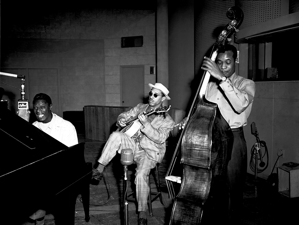 Nat King Cole Trio from Jazz fine art photography