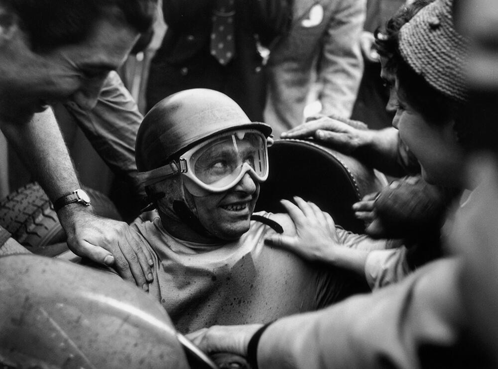 Juan Manuel Fangio from Sports fine art photography