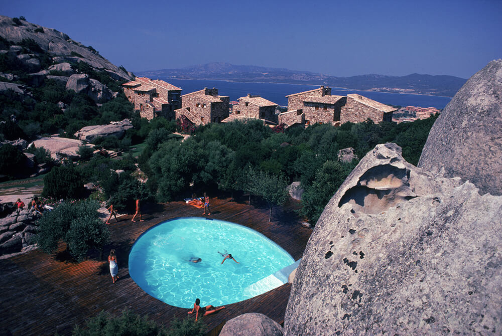 Pool At Porto Rotondo fine art photography
