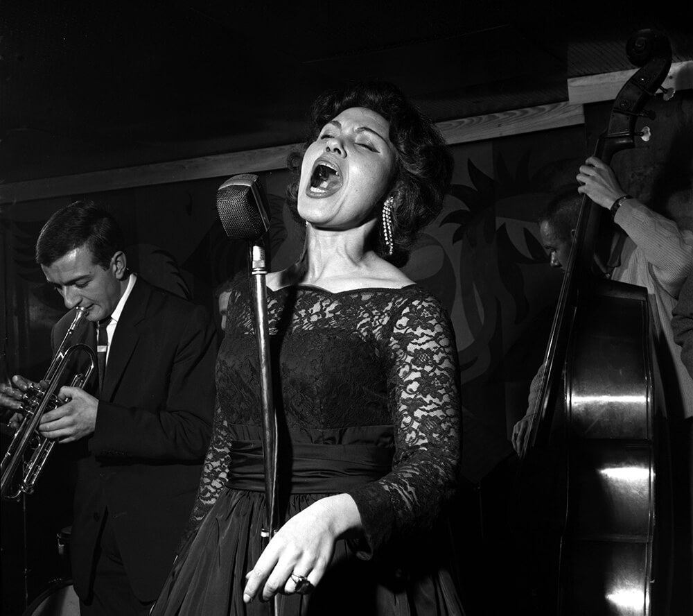 Cleo Laine at the Flamingo Club from Jazz fine art photography
