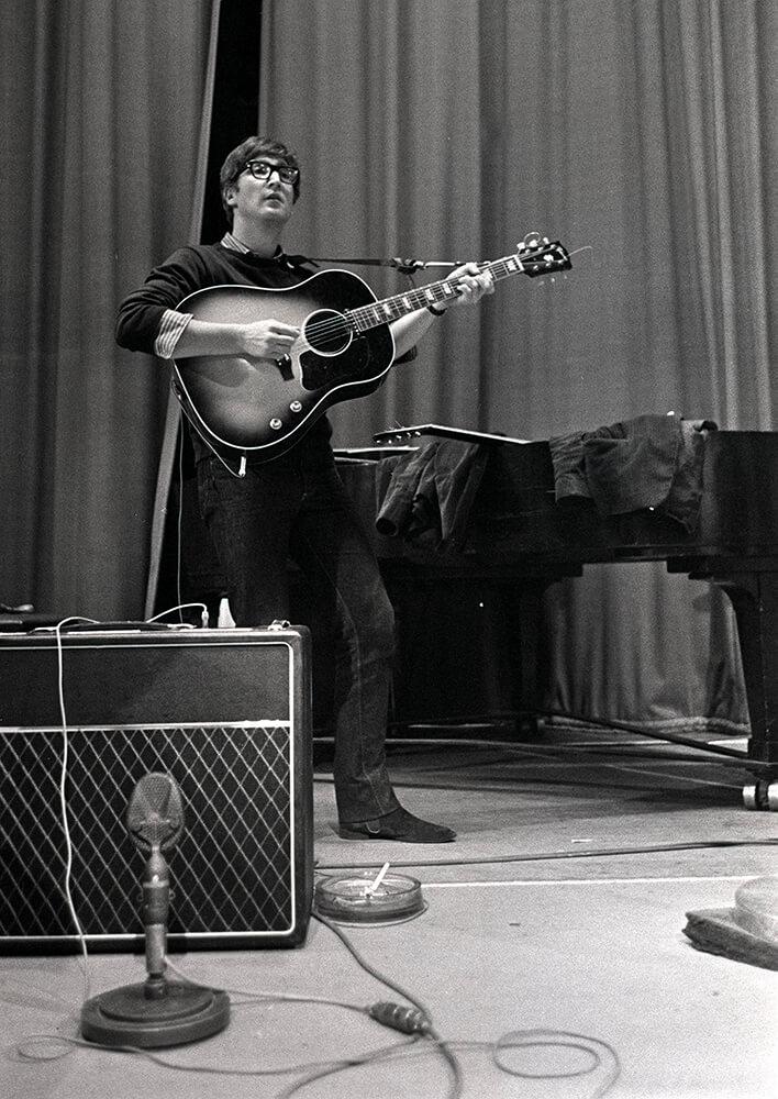 John Lennon of The Beatles pop group from Pop fine art photography