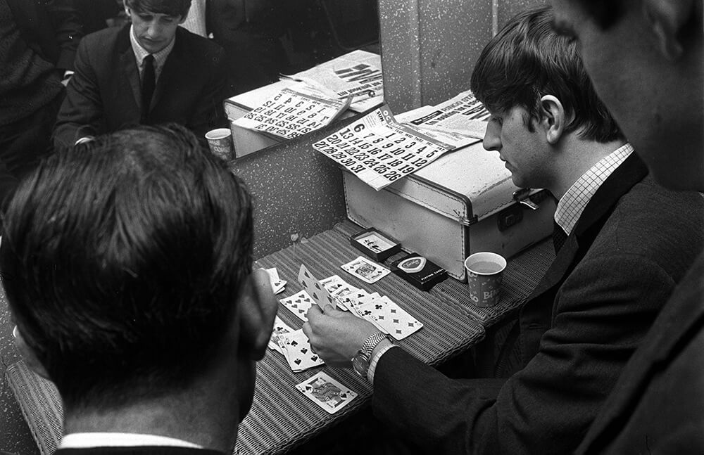 Ringo Starr Playing Cards from Beatles fine art photography