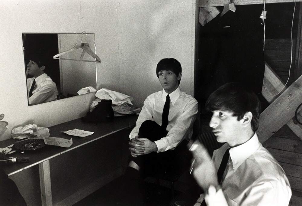 Paul McCartney and Ringo Starr from Beatles fine art photography
