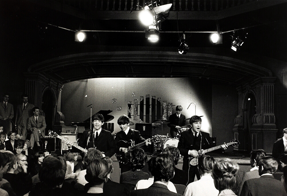 The Beatles Performing from Beatles fine art photography