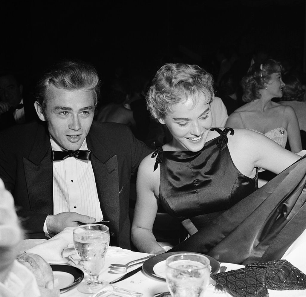 James Dean And Ursula Andress from Hollywood fine art photography