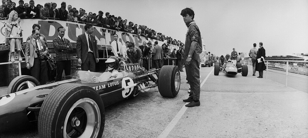 Jim Clark In Lotus from Daily Express fine art photography