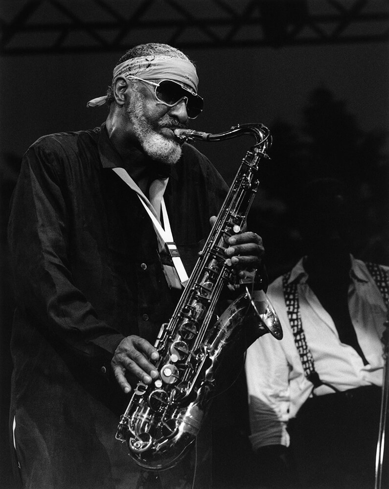 Sonny Rollins from Jazz fine art photography