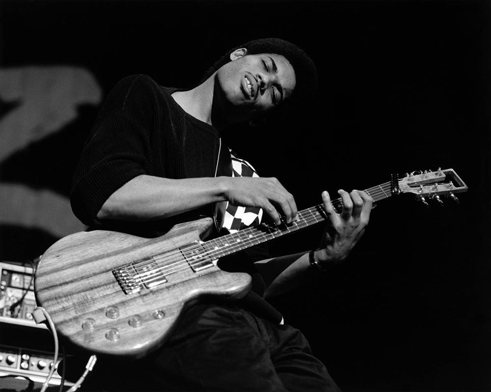 Stanley Jordan from Jazz fine art photography