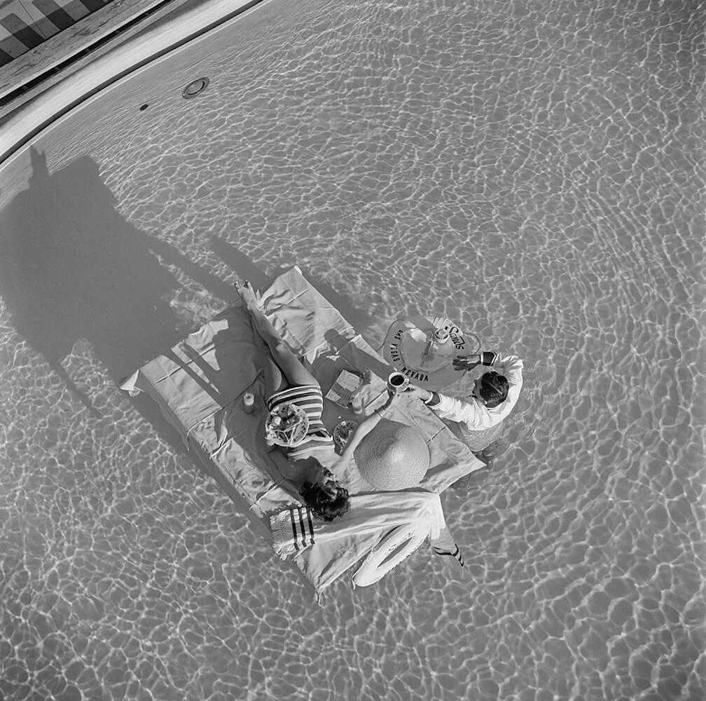 Las Vegas Luxury from Slim Aarons B&W fine art photography