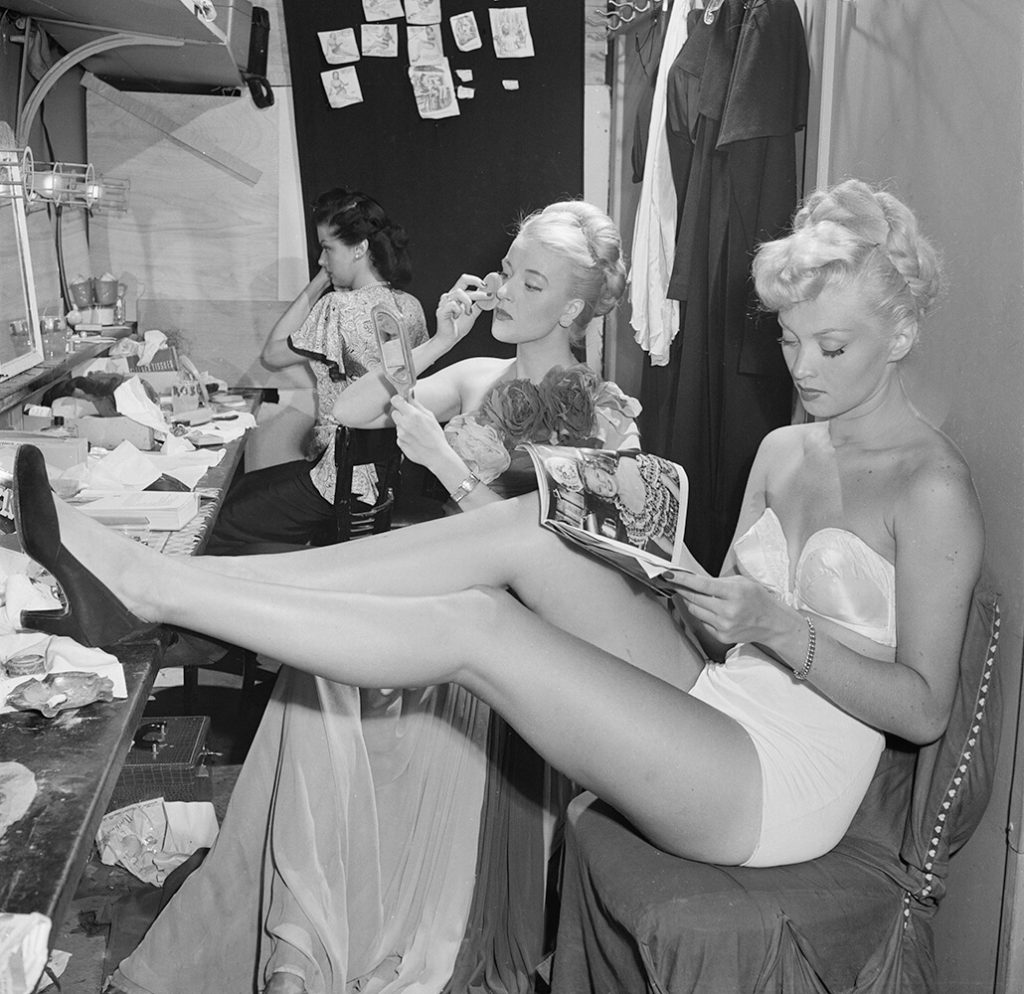 Backstage At La Scala from Slim Aarons B&W fine art photography
