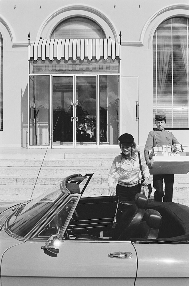 Shopping In Portugal from Slim Aarons B&W fine art photography