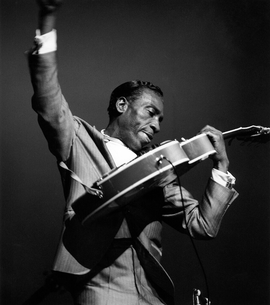 T Bone Walker from Jazz fine art photography
