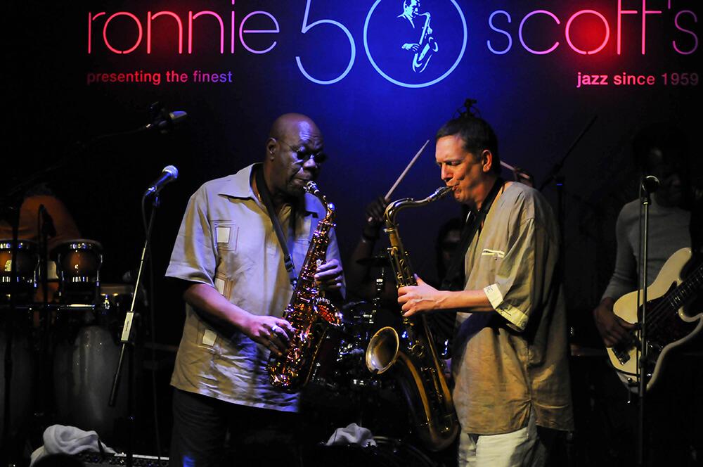 Manu Dibango at Ronnie Scott's from Jazz fine art photography
