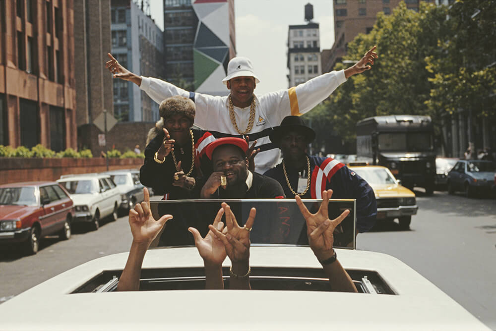 LL Cool J In Limousine from Hip Hop fine art photography
