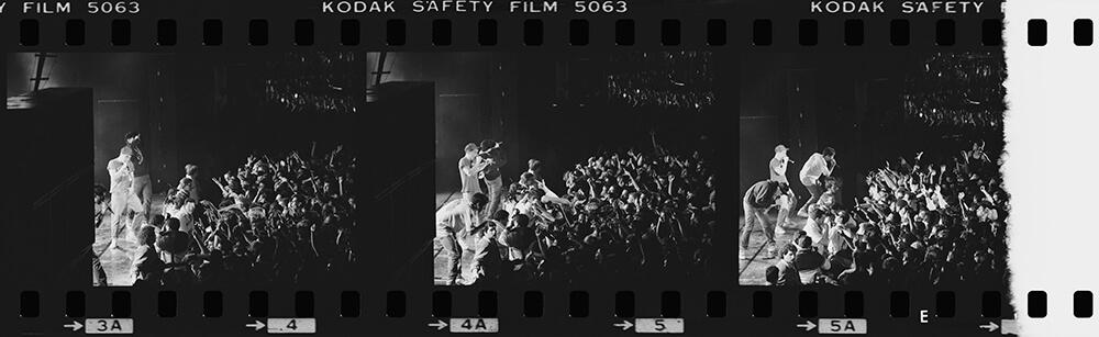 Beastie Boys On Stage – Triptych fine art photography